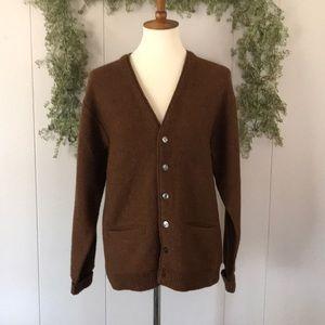SOLD VTG Varsity Boyfriend Wool Cardigan Sweater